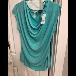 Woman's cowl neck blouse